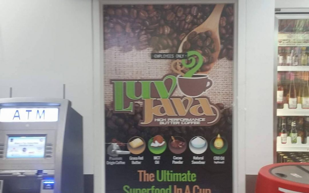 Sweet Luv Java Door Wrap Debuts at Direct From Philly in Florida